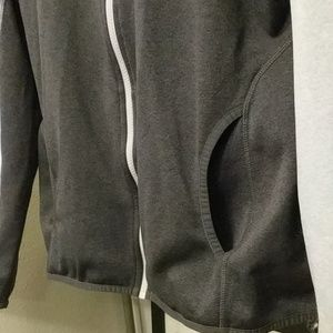 The North Face Jackets & Coats - Two Toned Gray The North Face Zip Up w thumb holes